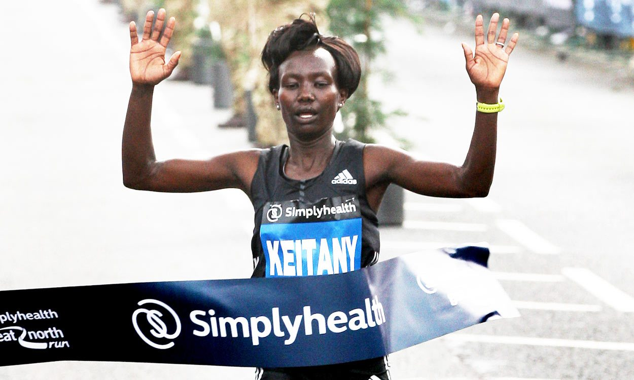 Mary Keitany claims dominant third Great North Run title