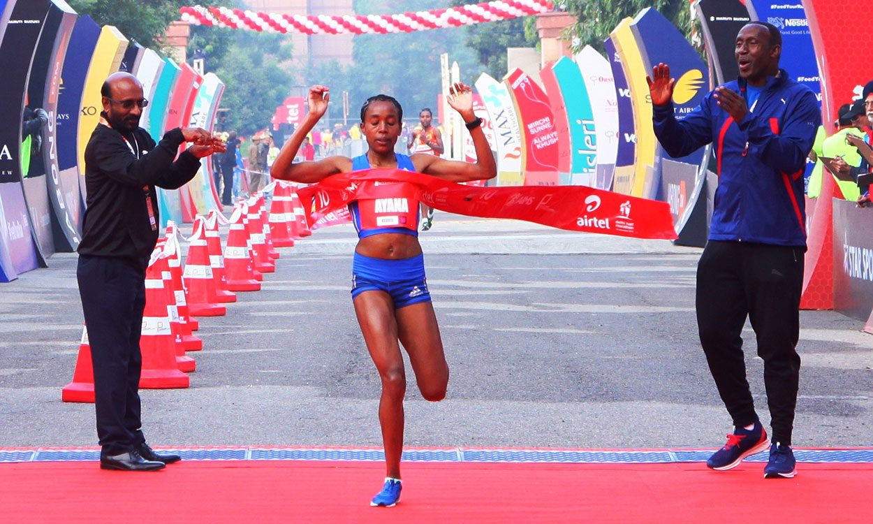 Almaz Ayana wins in Delhi on half-marathon debut – weekly round-up