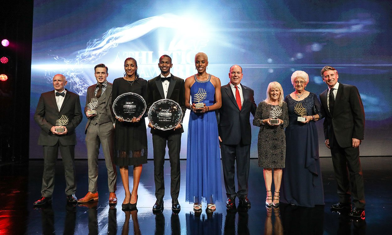 Nafissatou Thiam and Mutaz Essa Barshim named 2017 IAAF world athletes of the year