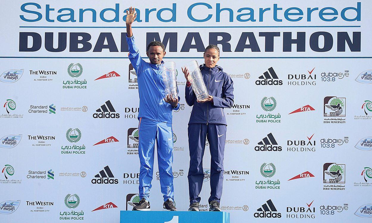 Records broken in historic Dubai Marathon