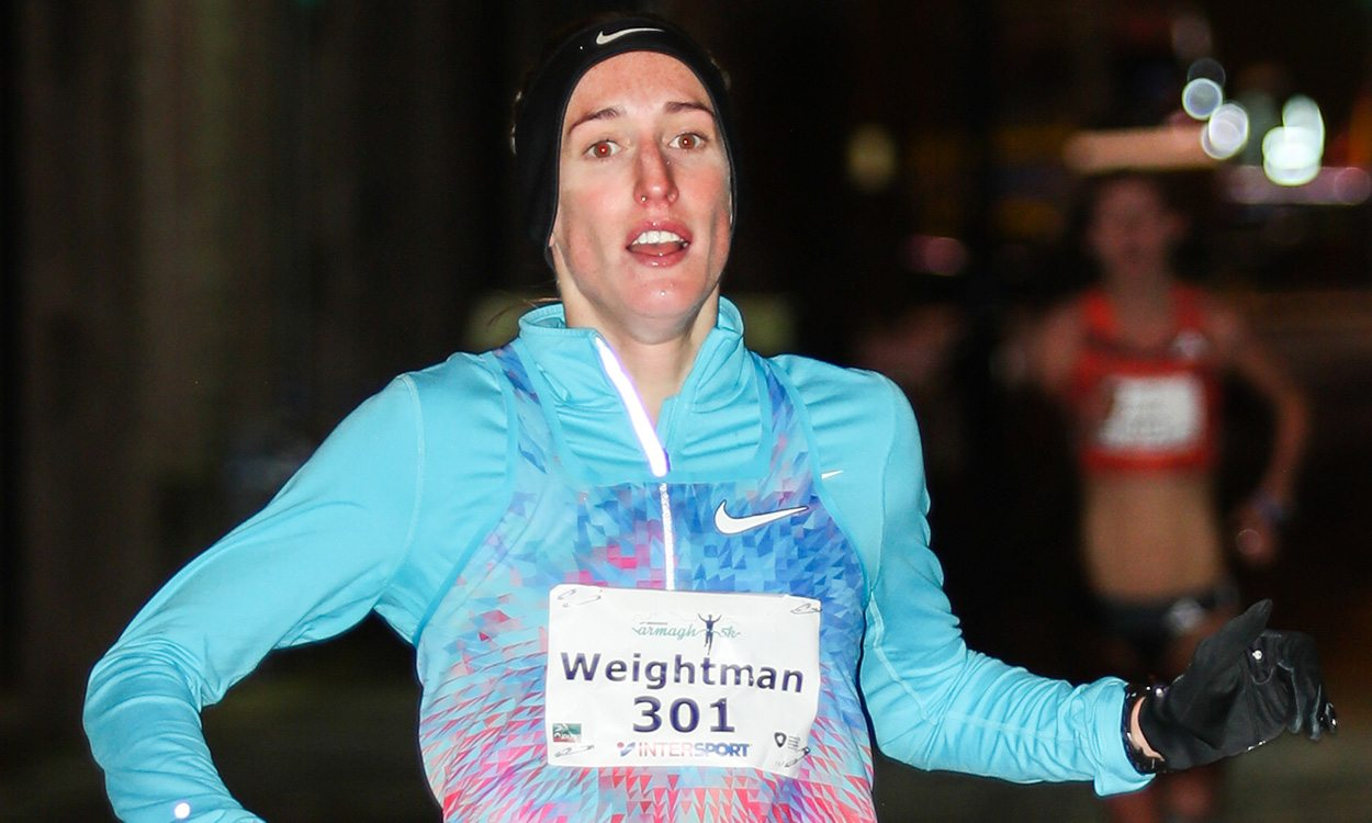 Laura Weightman and Sam Stabler win in Armagh