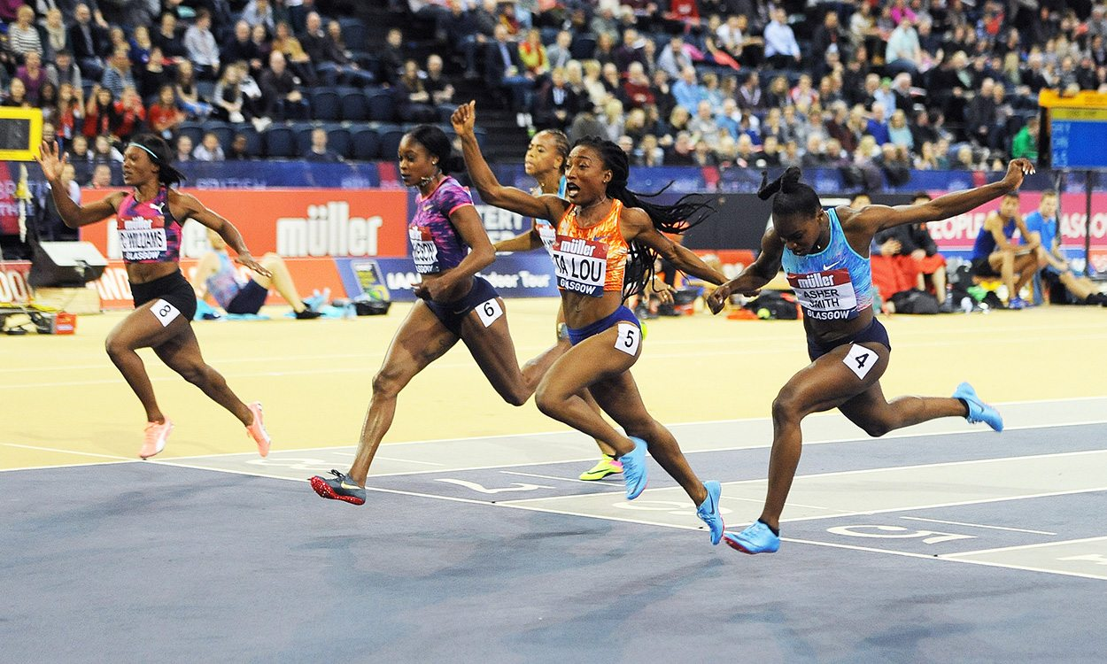 No regrets for Dina-Asher Smith as athletes impress in Glasgow