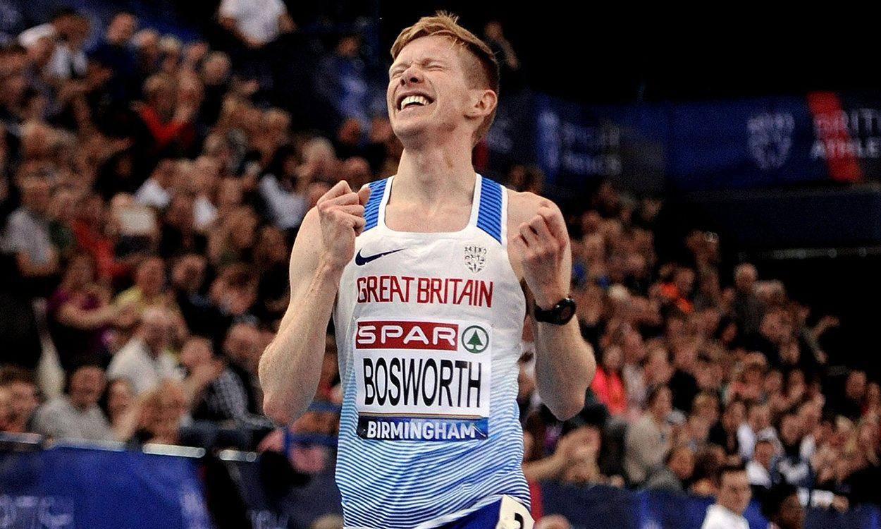 Tom Bosworth breaks British record in Birmingham