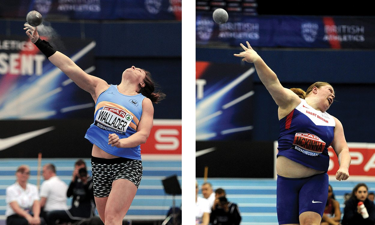 Rachel Wallader and Sophie McKinna selected for European Throwing Cup