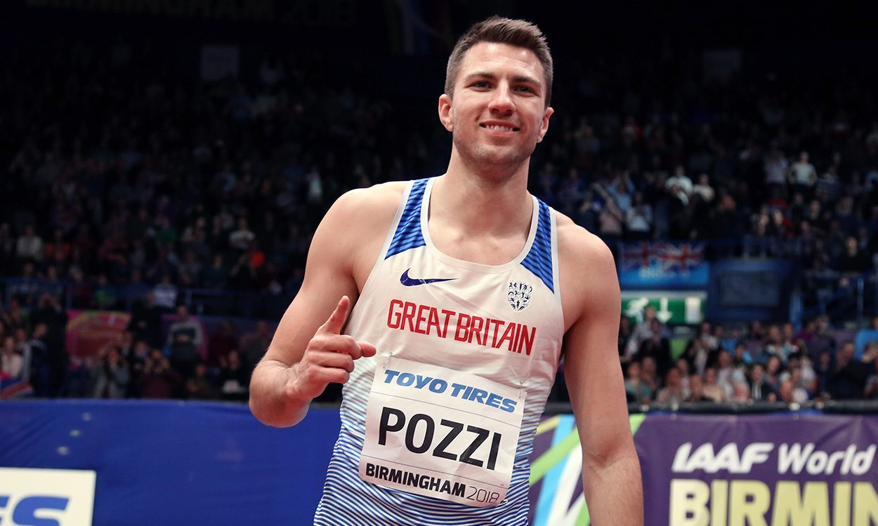 Andrew Pozzi heads back to Birmingham as world indoor champ