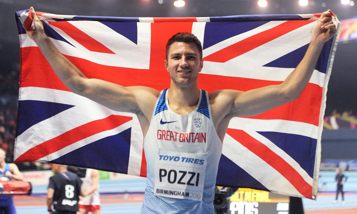 Andrew Pozzi crowned world indoor champion