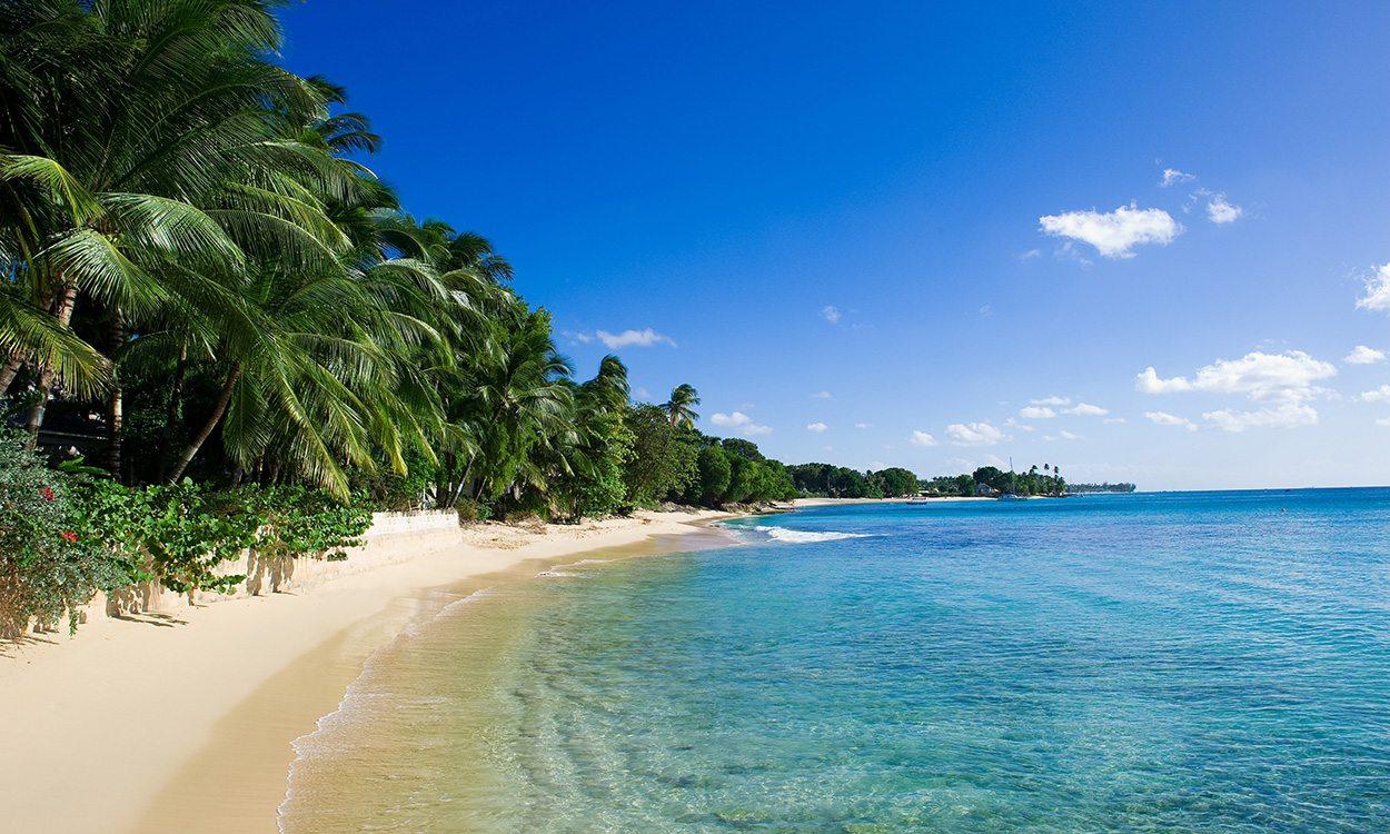 Running in beautiful Barbados