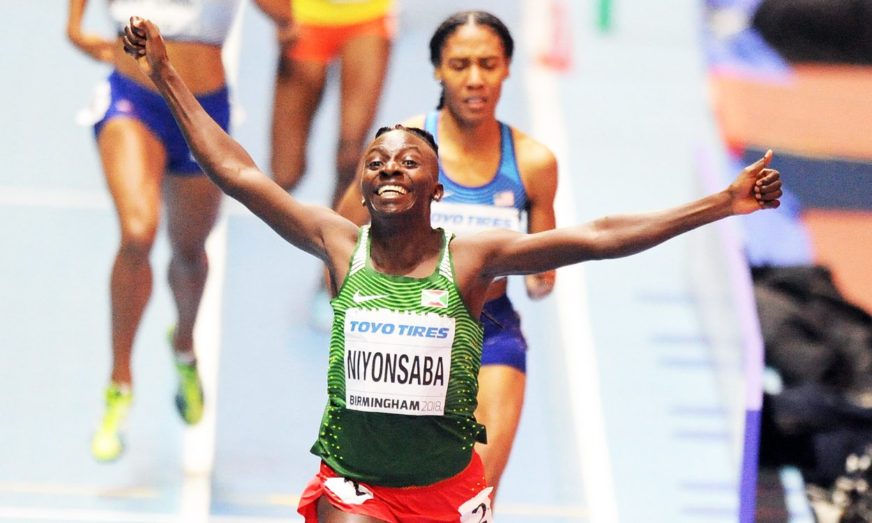 Bronze for Britain as Francine Niyonsaba wins world indoor 800m