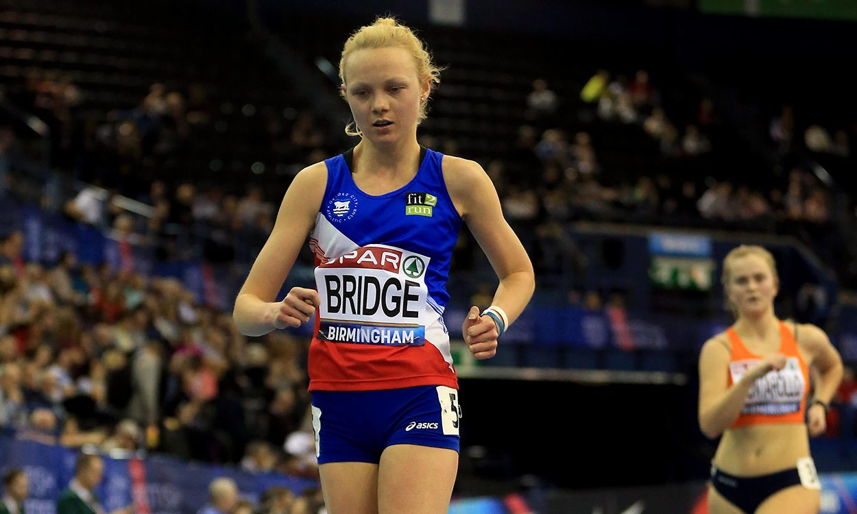 Gemma Bridge's rise in race walking