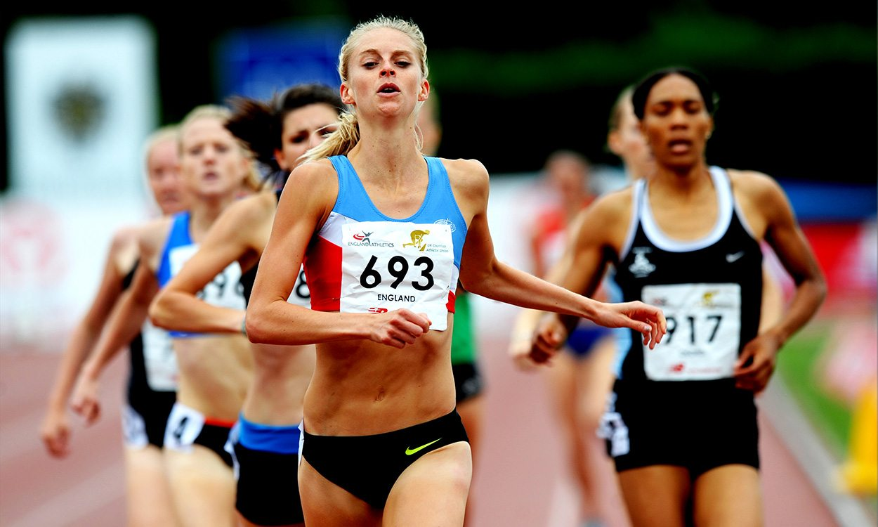 Hannah England's continued contributions in athletics