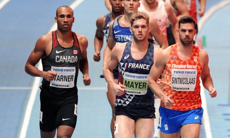 Kevin Mayer world indoors 2018 by Mark Shearman