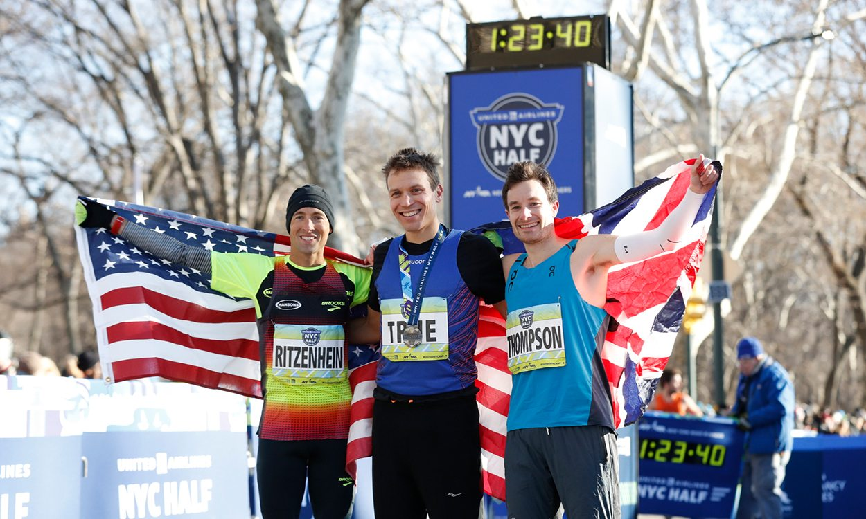 Ben True and Buze Diriba win NYC Half