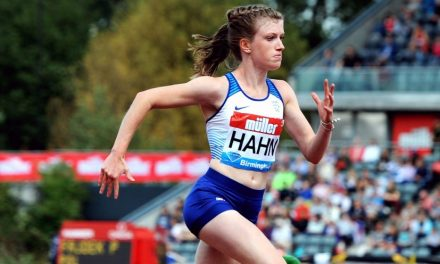 Sophie Hahn is going for gold in Dubai