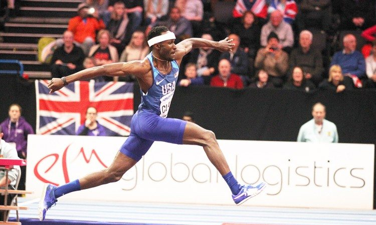 Will Claye World Indoors 2018 by Mark Shearman