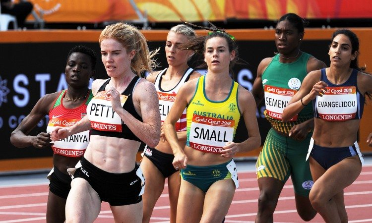 800m heat Gold Coast 2018 by Mark Shearman