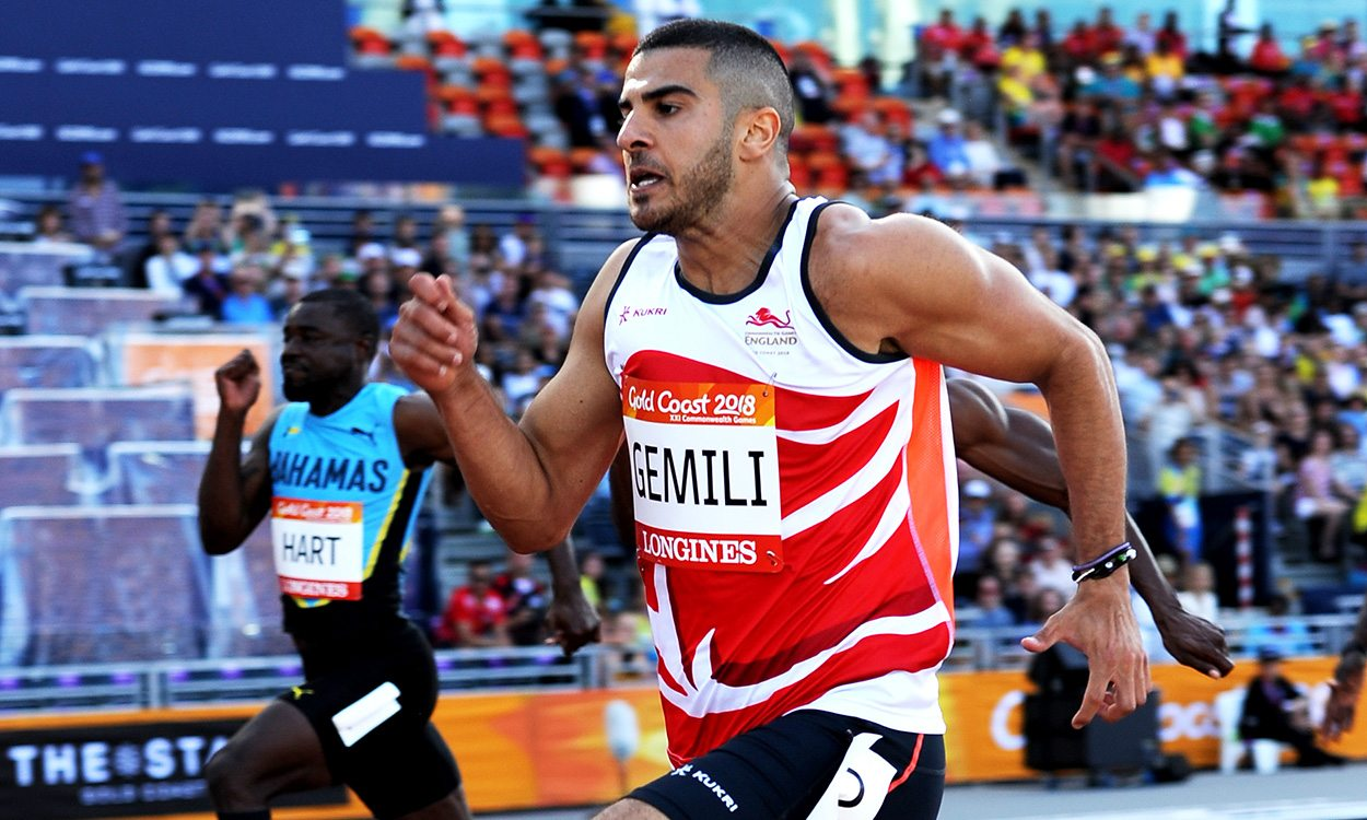 Adam Gemili withdraws from Commonwealth 100m final