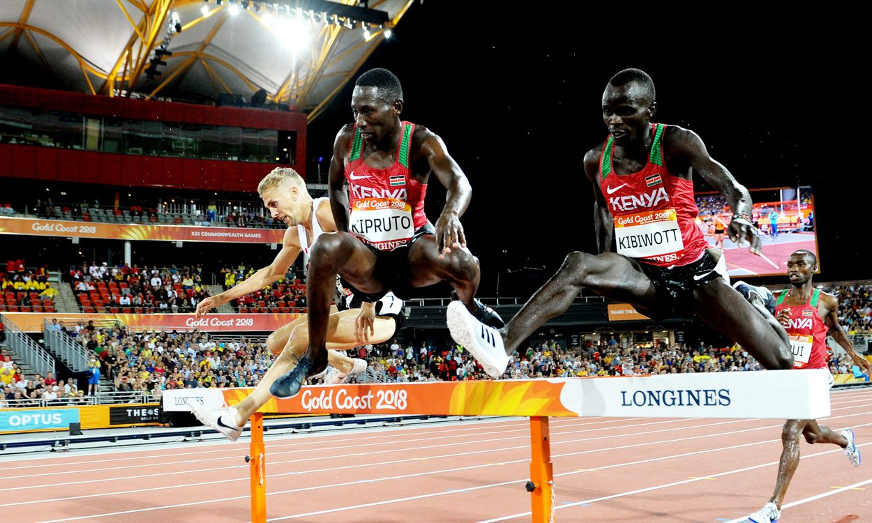 Conseslus Kipruto leads steeplechase clean sweep