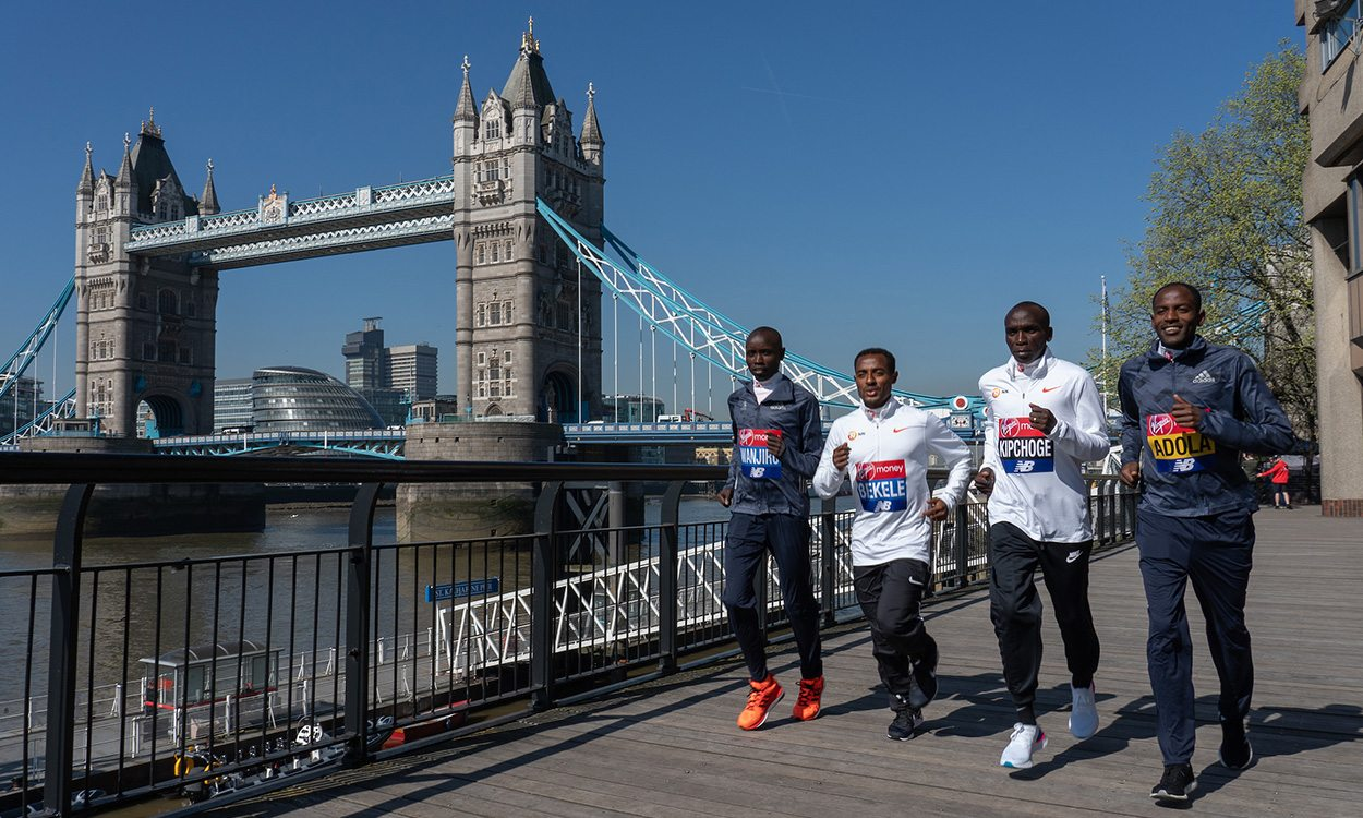 Red-hot races forecast for London Marathon