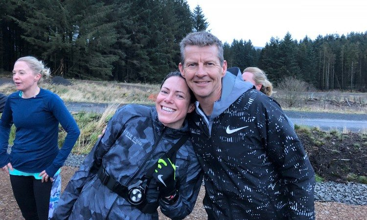 Helen-Clitheroe-and-Steve-Cram-by-PAUL-ANDREWS-Steve-Cram-camp