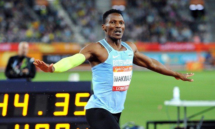 Isaac Makwala Gold Coast 2018 by Mark Shearman
