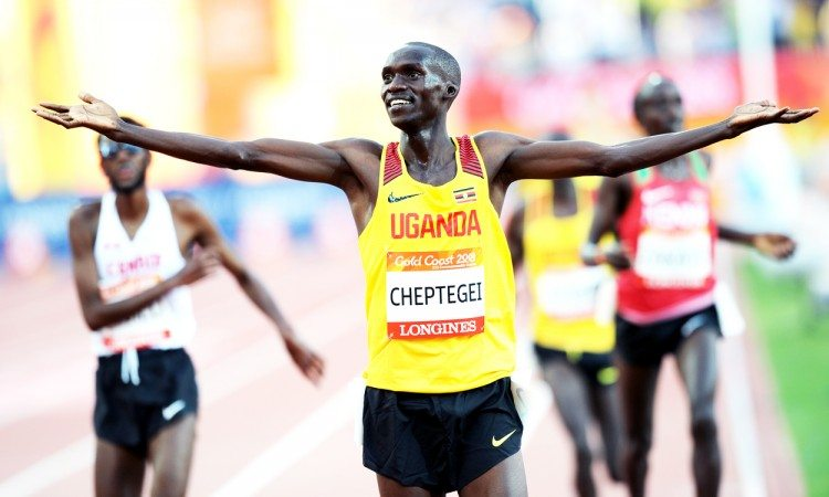 Joshua Cheptegei Gold Coast 2018 by Mark Shearman