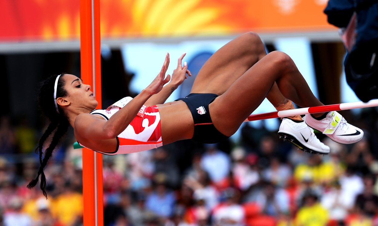 Katarina Johnson-Thompson claims Commonwealth heptathlon crown