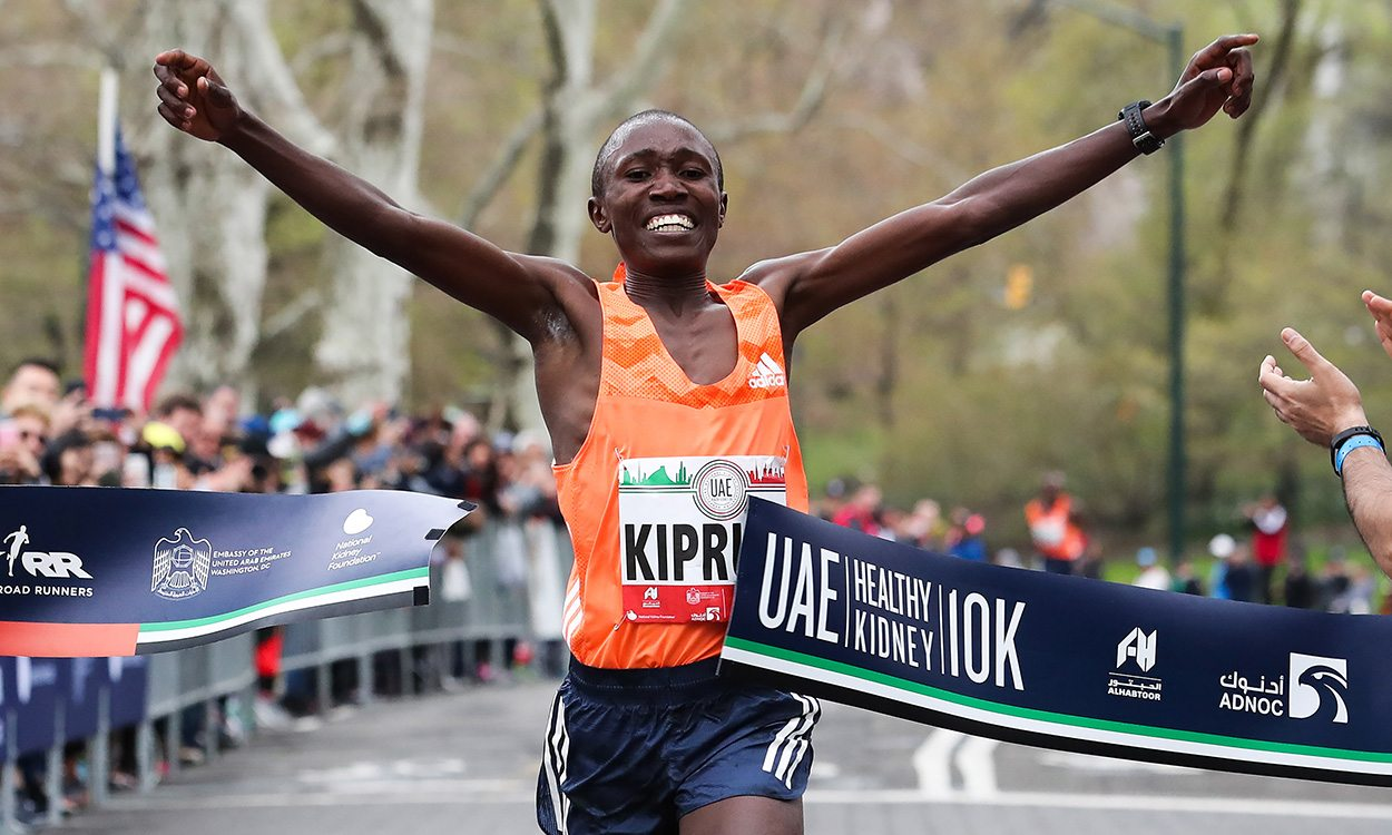 Rhonex Kipruto clocks historic 10km in New York – weekly round-up