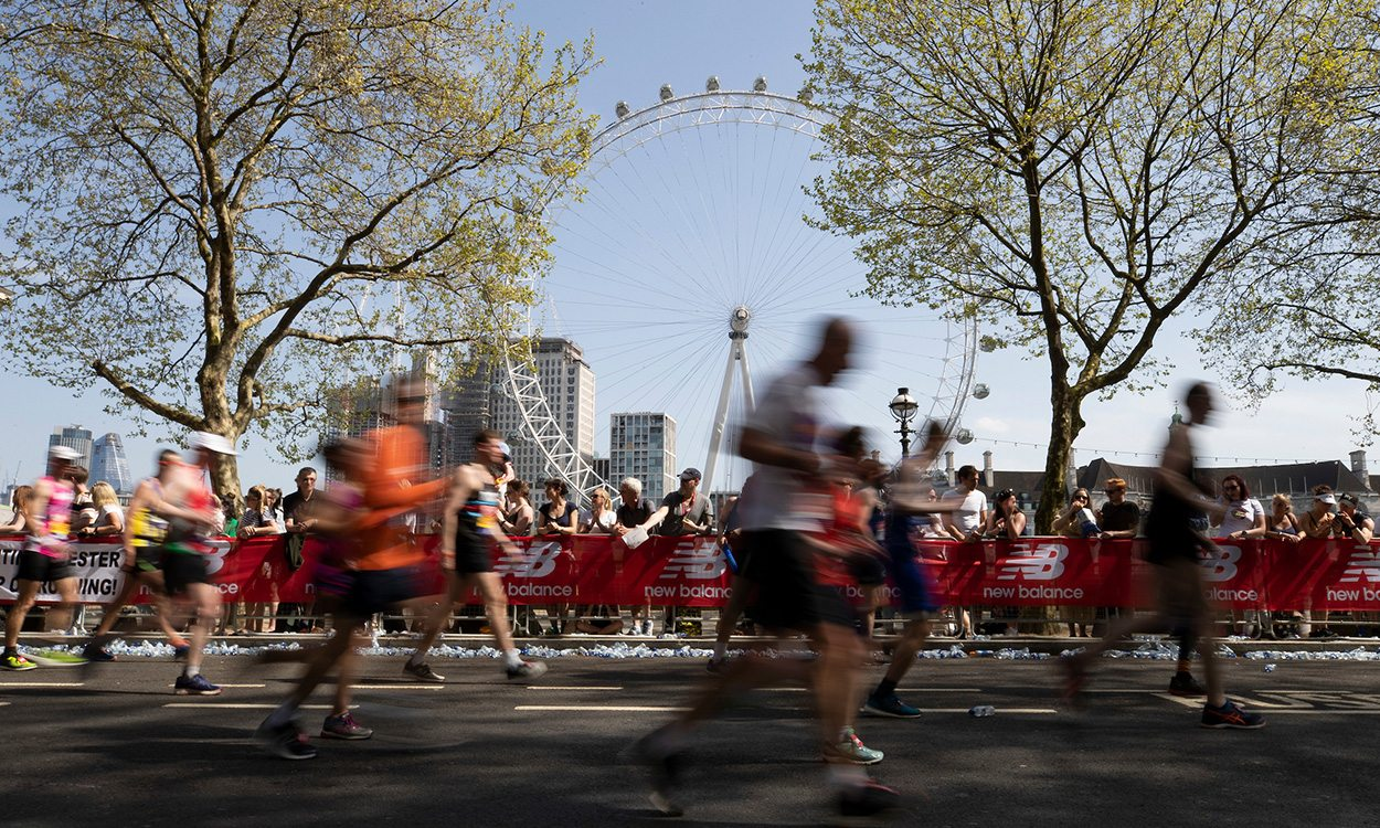 London Marathon runners pledge to 'finish' race for Matt Campbell