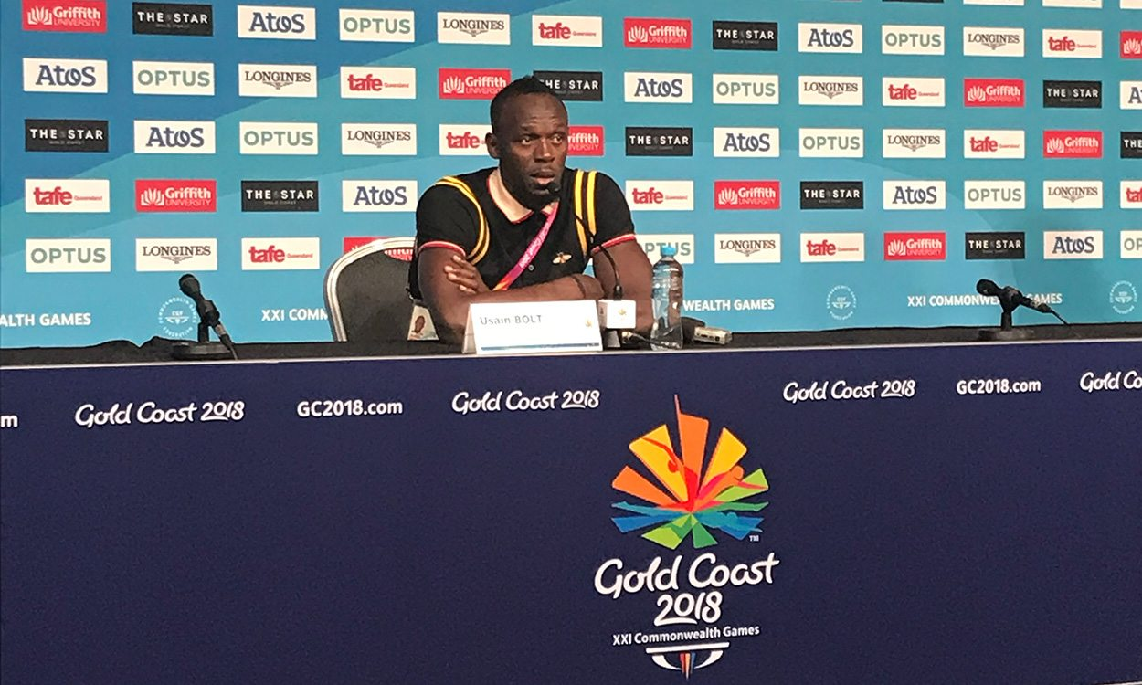 Usain Bolt ready to reward next sprint stars