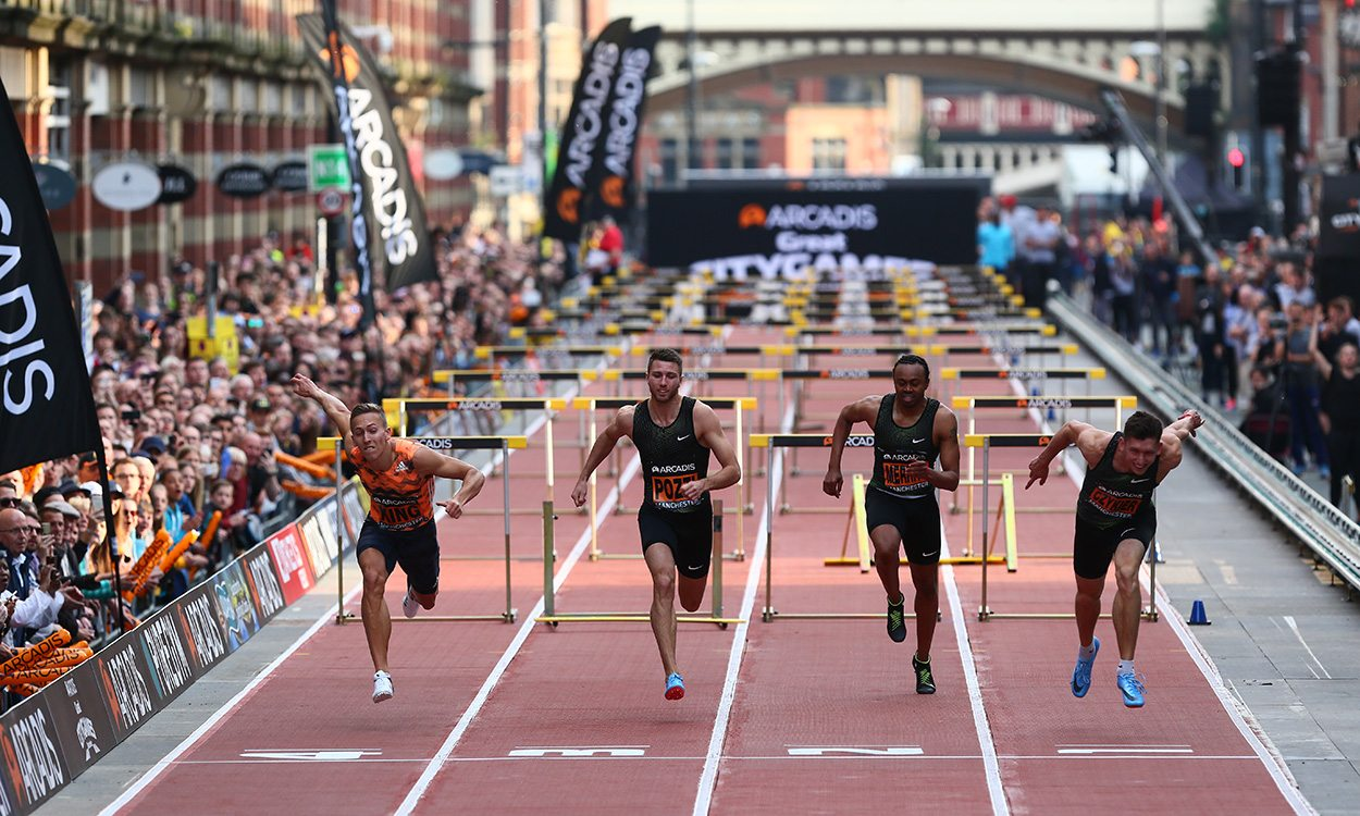 Action-packed anniversary for Manchester Great CityGames