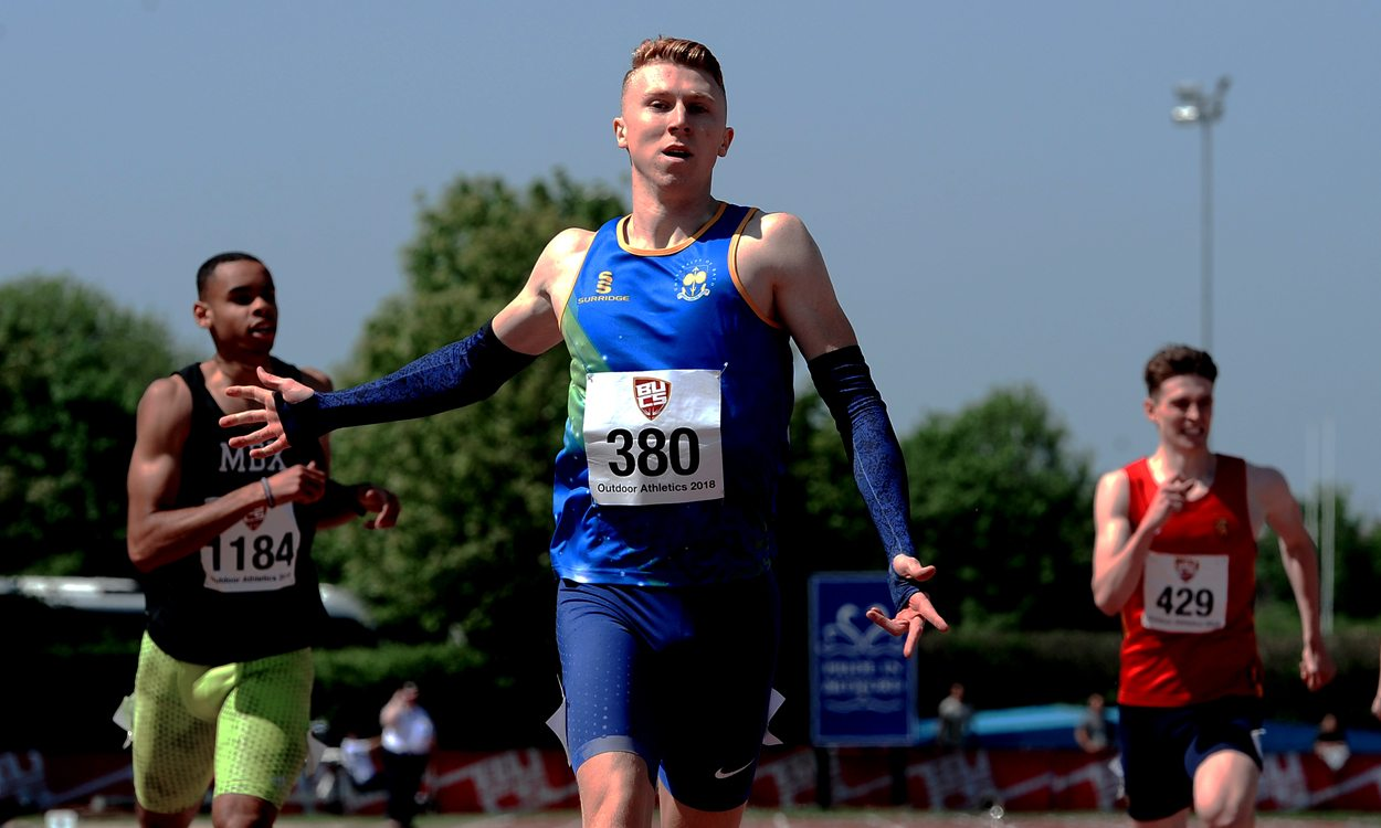 Cameron Chalmers among winners at hot BUCS Championships