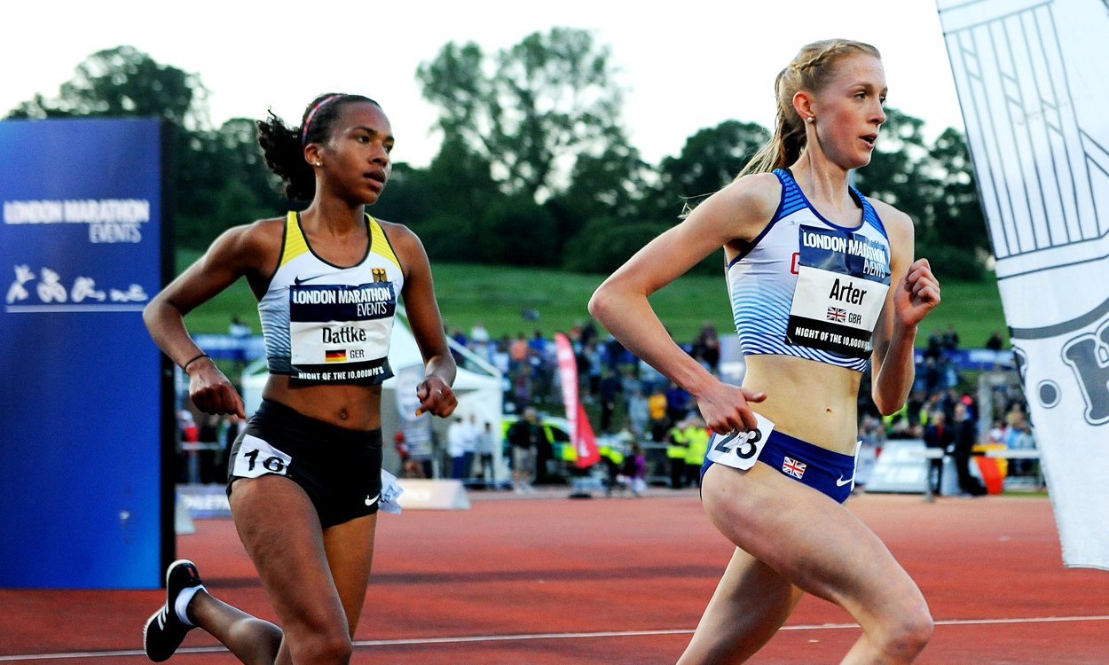 Charlotte Arter claims European 10,000m Cup bronze