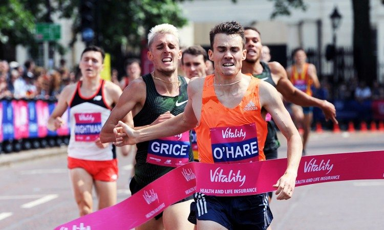 Chris O'Hare, Melissa Courtney and David Weir win at Westminster Mile