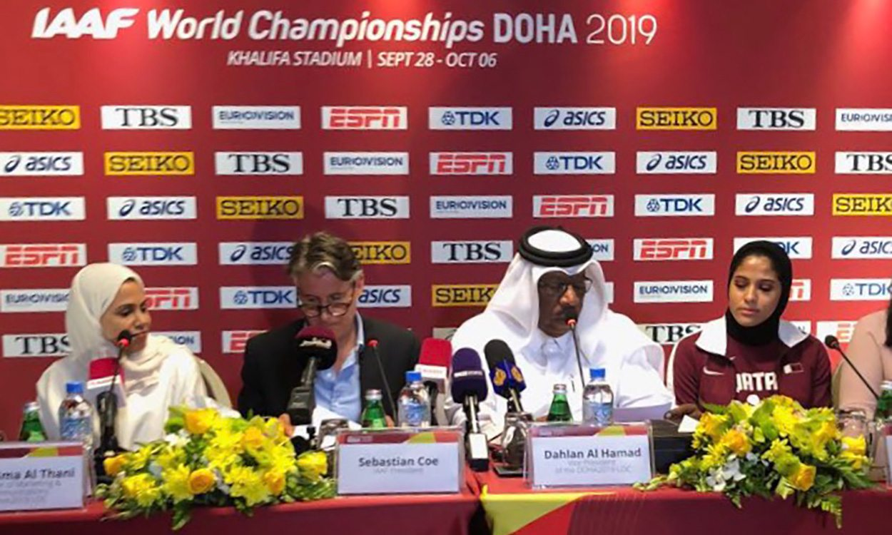 Doha World Championships schedule and midnight marathon announced