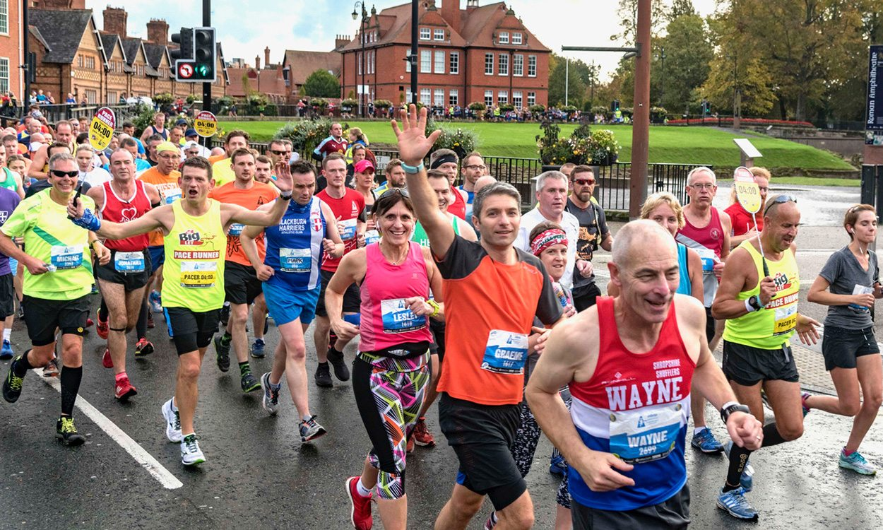 MBNA Chester Marathon tops podium