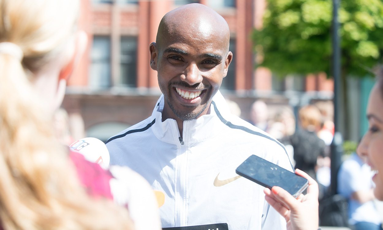 Mo Farah motivated by major marathon goal