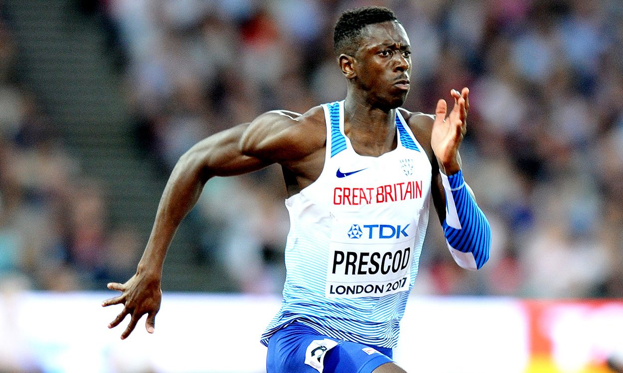 Reece Prescod wins Shanghai Diamond League 100m