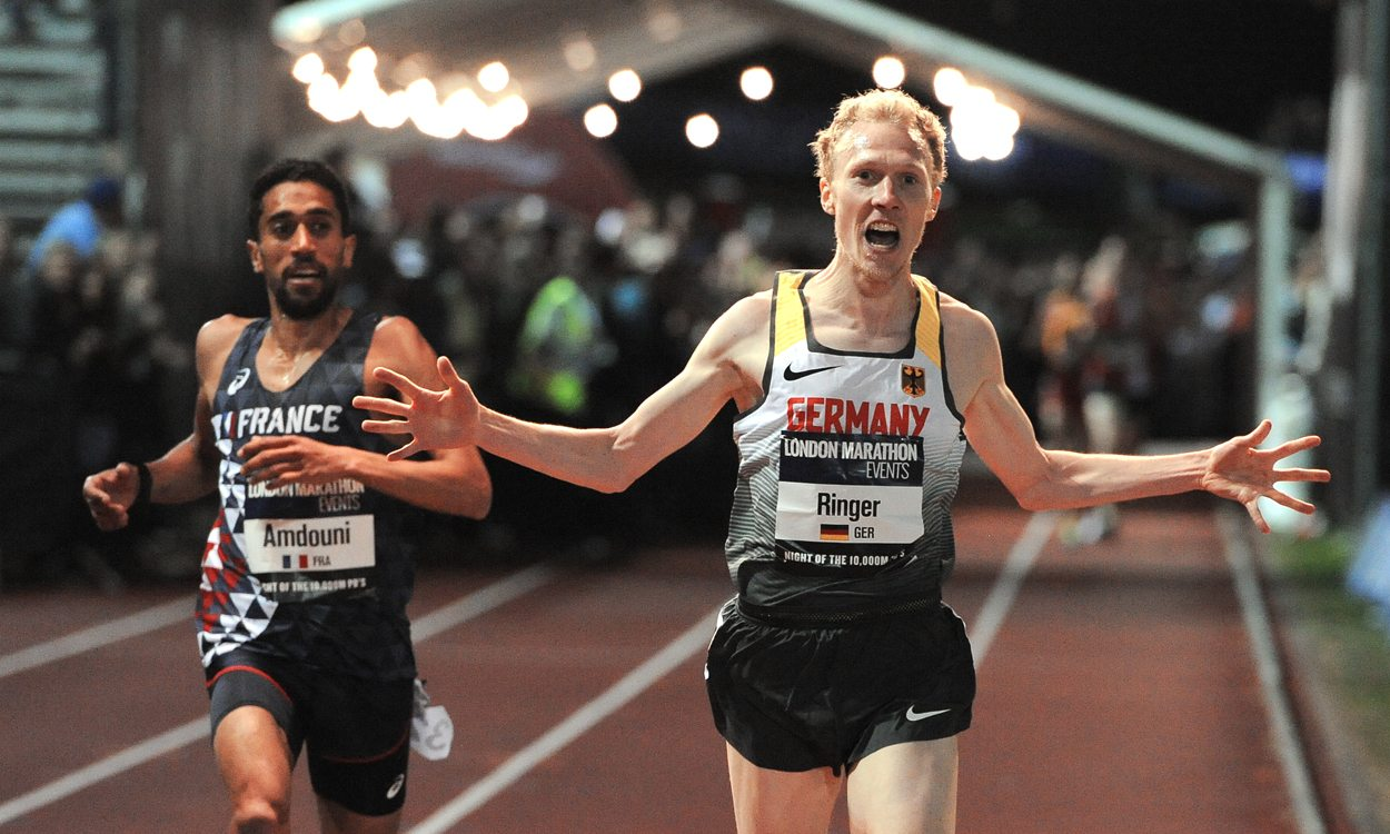 Richard Ringer wins Euro 10,000m Cup thriller