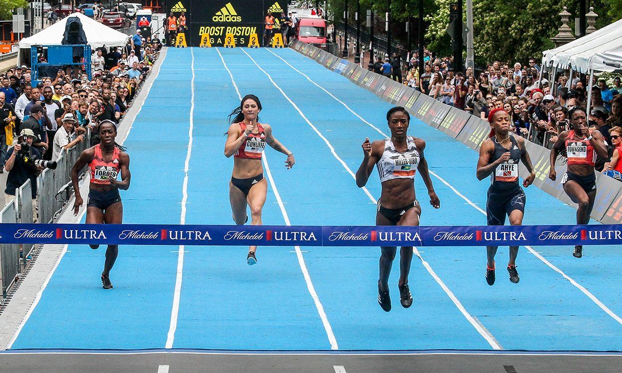 Shaunae Miller-Uibo breaks world 150m best in Boston – weekly round-up