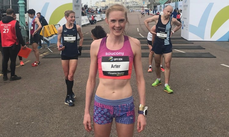 Charlotte Arter returns to US for NYRR Mini 10K test