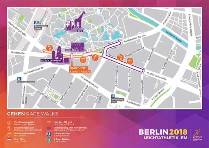 Berlin Marathon Kursbeschreibung