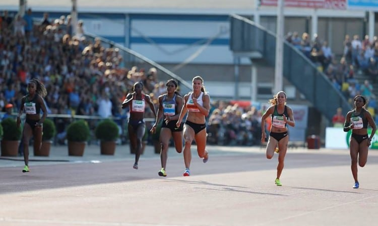 Dafne Schippers and Maria Lasitskene among winners in Hengelo