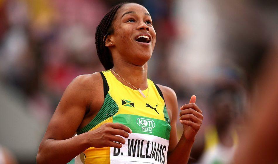 Teen sprint star Briana Williams tests positive