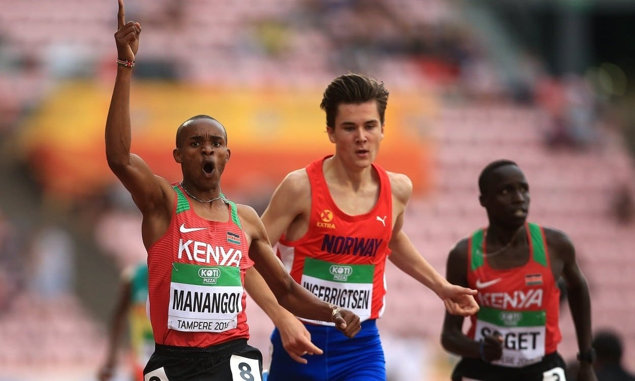 George Manangoi wins high-quality 1500m in Tampere