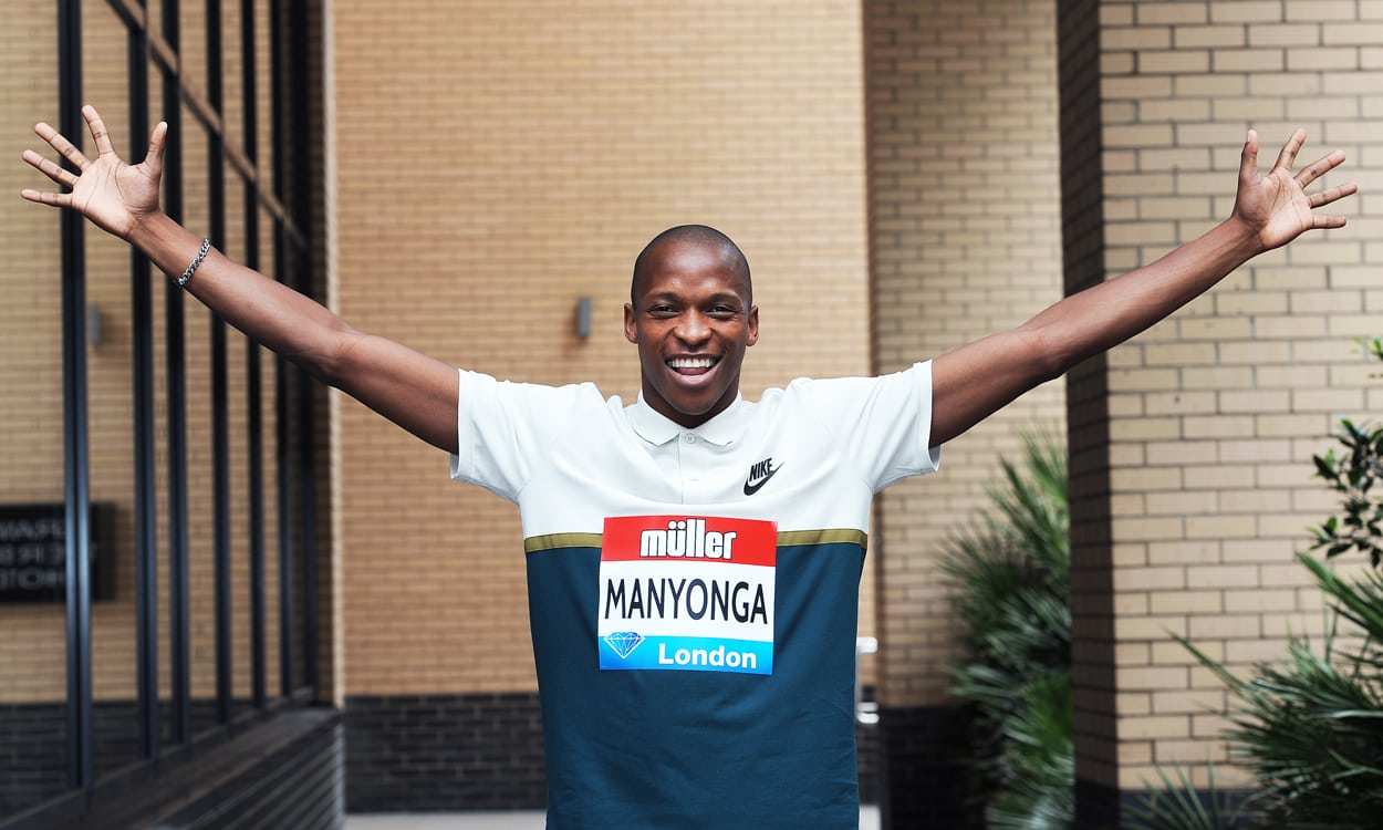"Luvo Manyonga: ""I was born to break that nine metres barrier"""