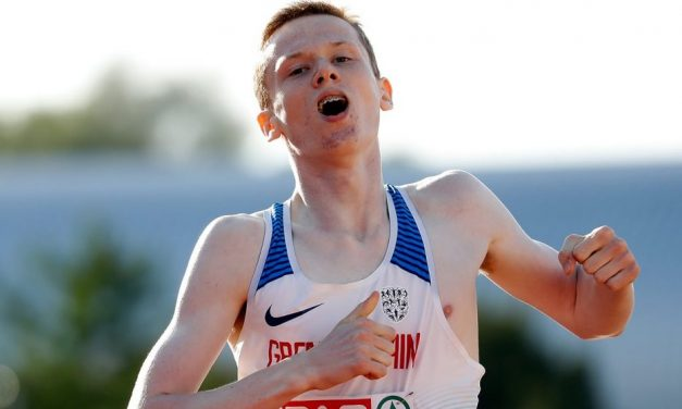 Max Burgin confirmed on GB European U20 Championships team