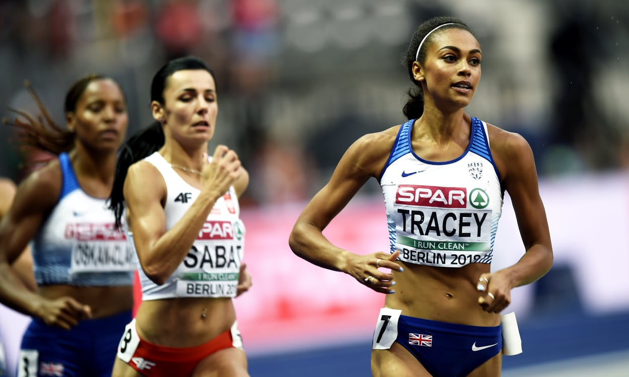 Lonah Chemtai Salpeter gets gold, Adelle Tracey runs sub-two in Berlin