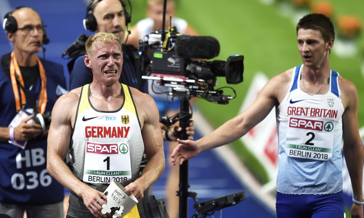 Tim Duckworth battles his way to fine fifth in Berlin decathlon