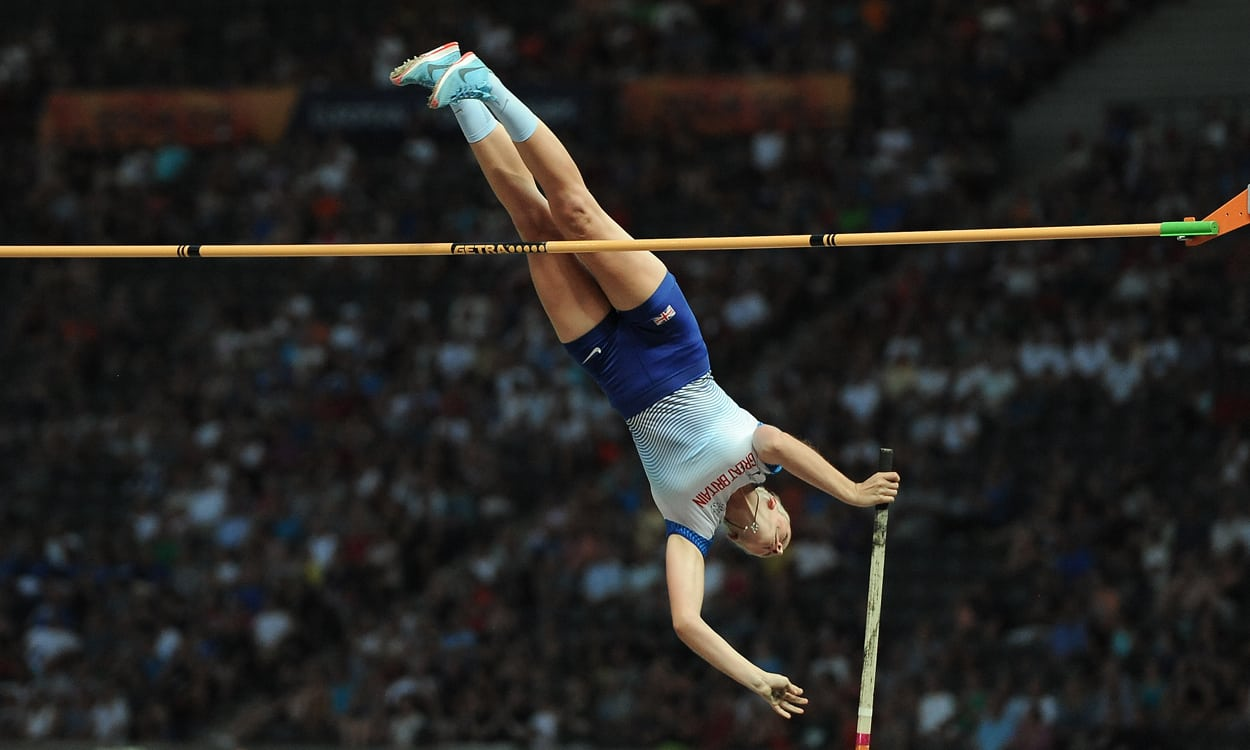 Holly Bradshaw bags bronze as Stefanidi wins pole vault in Berlin