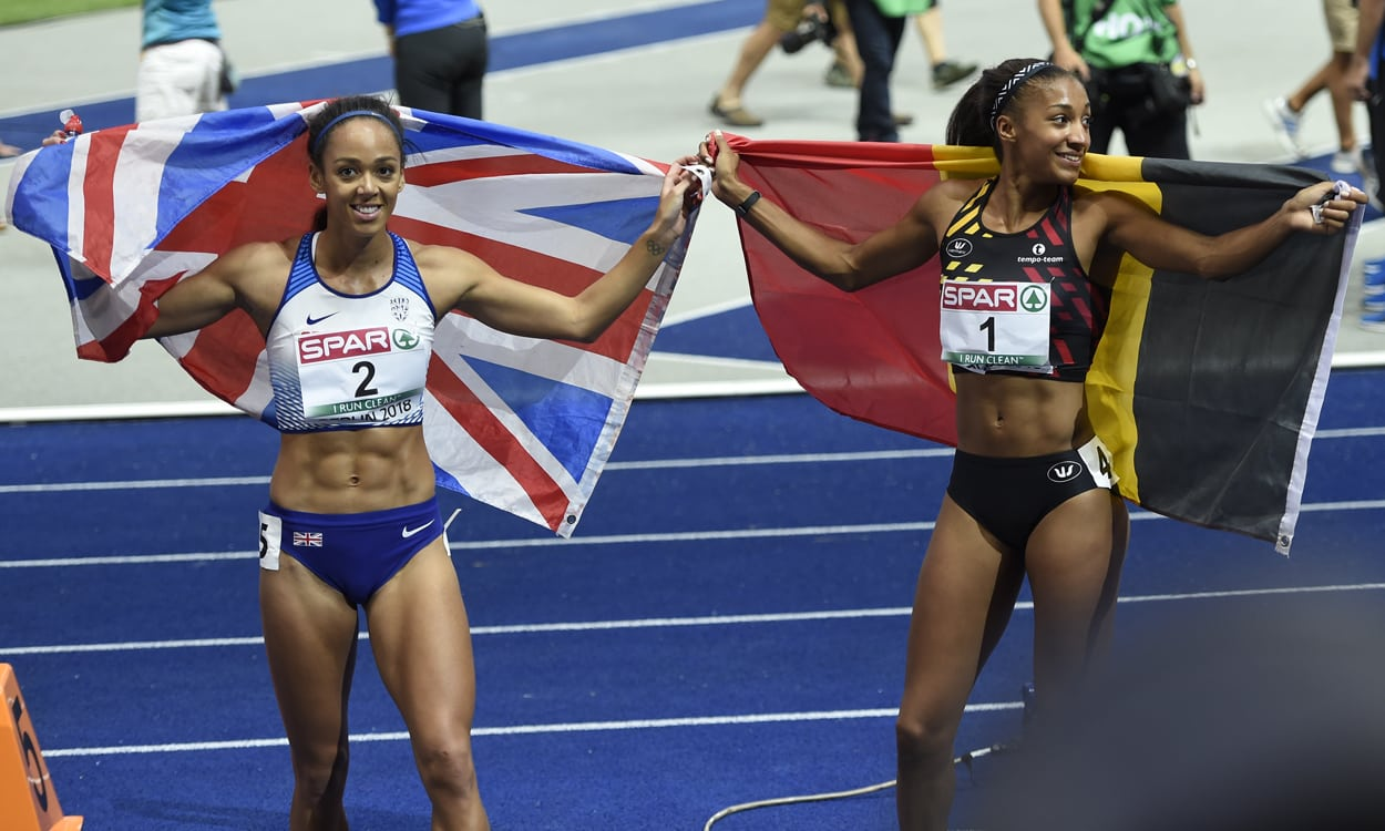 Nafi Thiam wins Euro heptathlon as Johnson-Thompson secures silver
